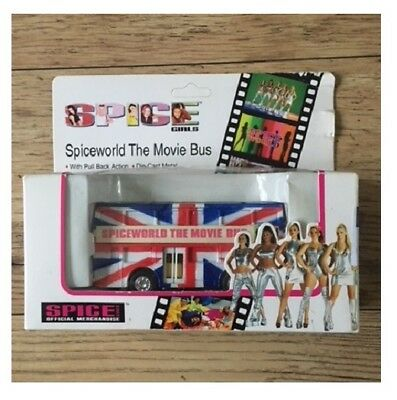 Spice Girls Spiceworld Movie Bus Model - Official Merchandise New / Ex-Display
