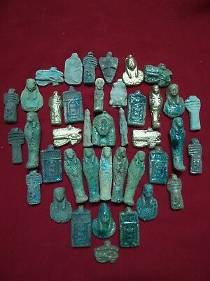 40 Ancient Egyptian amulets