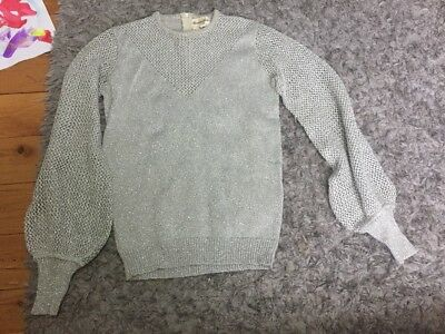 Marianne Knits - Vintage Sweater Silver
