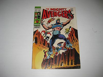 The Avengers #63 (Apr 1969, Marvel)  Vintage Silver Age Comic Book