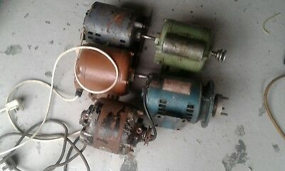 collection of assorted motors