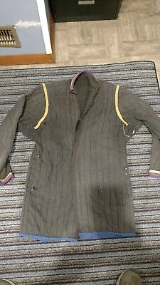 medieval gambeson mens med. used. jousting sca larp
