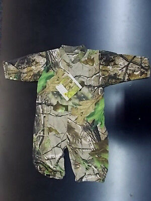 Infant Boys Realtree Camo Romper Size 3/6 Months - 18/24 Months