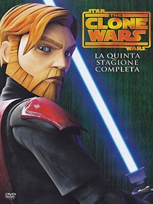 DVD STAR WARS THE CLONE WARS STAGIONE 05 varie Warner Home Video 16:9 Nuovo
