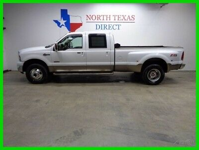 2006 Ford F-350 King Ranch FX4 4WD Dually Leather Heated Seats GPS 2006 King Ranch FX4 4WD Dually Leather Heated Seats GPS Used Turbo 6L V8 32V