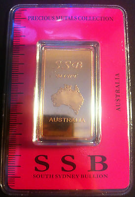 1 oz .999 Solid Copper Bullion Certified Ingot (Australia) Clearance