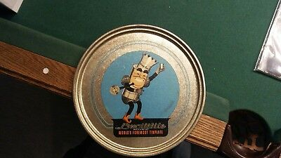 Ductillite King Kan Worlds Firemost Tin Plate advertising tray