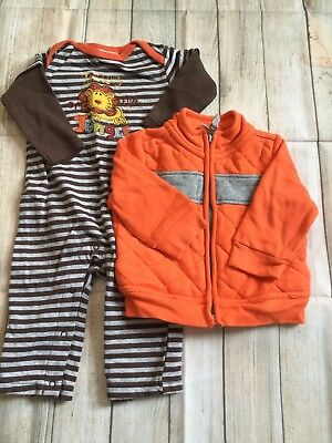 Old Navy And Koala Kids Outfit Set 3-6 Month Boys EUC