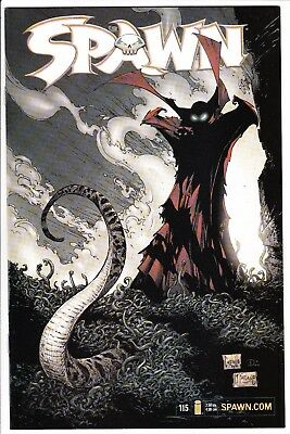 Spawn #115 Nm 2001 Todd Mcfarlane Greg Capullo Angel Medina Art Image Comics