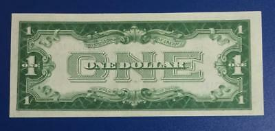 """1928A $1 US Gorgeous Choice Uncirculated """"FUNNY BACK"""" SILVER Certificate X878"""
