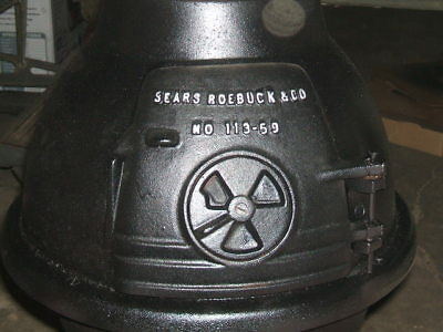 Sears Pot Belly Stove. Comes With Flue Dampper & Lid Handel 2 Tools With Stand