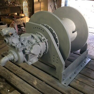 Ingersoll Rand FA10-24  Air Tugger  Disc Winch, Reconditioned.Warranty,22,000 lb