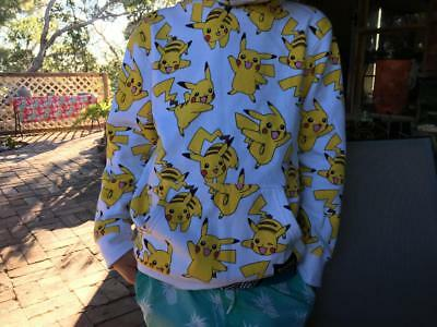Pokemon Boys Hoodie/Jumper/Hardly Used - Fabulous - Great Graphics - Size 12