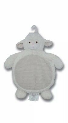 Kelly Cream Off White Lamb Play Mat With Corduroy Accents ***new With Tags***