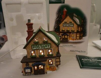 Dept 56 Alpine Village CHRISTKINDL POST OFFICE 805531
