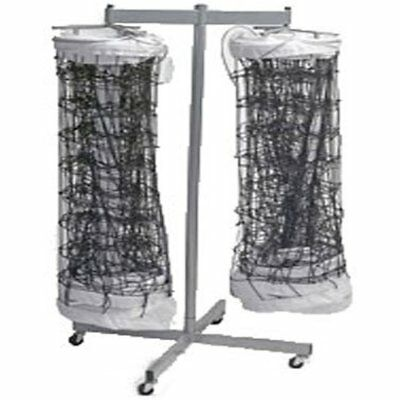 Nets Tandem Sport Double Net Storage Rack (Holds Up Volleyball Nets)
