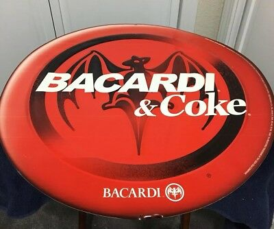 Bacardi Tin Metal Sign Vintage 2003
