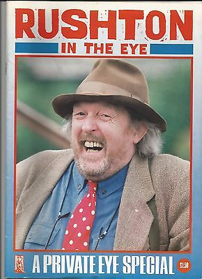 Private Eye Special - Willie Rushton 1937-1986   40 pages of Cartoon extracts