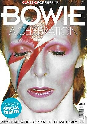 CLASSIC POP PRESENTS - BOWIE A CELEBRATION  132 page special tribute