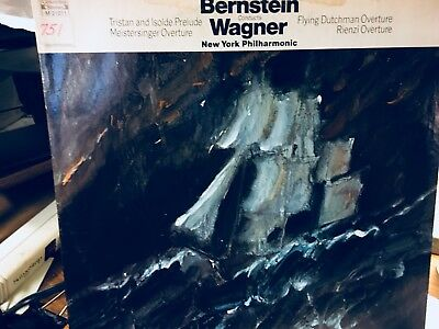 BERNSTEIN Conducts WAGNER NEW YORK Phil ; Tristan and Isolde Prelude ; Flying D