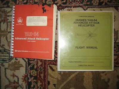 HUGHES YAH-64 ADVANCED ATTACK HELICOPTER - FLIGHT MANUAL and PHASE 2 PROGRAM