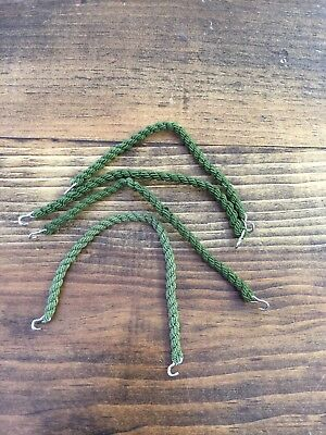 Military Boot Band Green. Pack Of 4