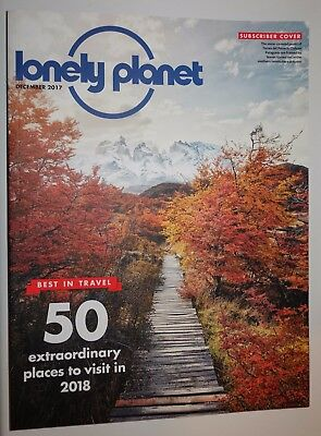 Lonely Planet Magazine December 2017 - Excellent Condition Subscriber Issue