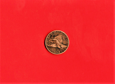 1857 Flying Eagle Cent,160 Years Old,high Grade