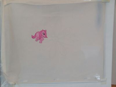 My Little Pony Hand Painted Original Production Cel