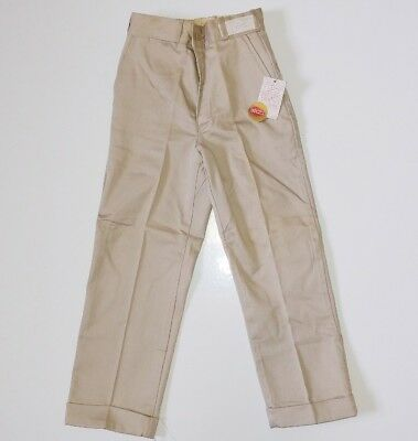 Cone Mills Sanforized Work Chino Vintage DeadStock 50s 60s Vtg USA Old Coneset