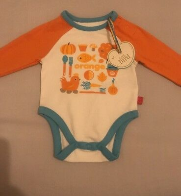 Little Bird By Jools Oliver Baby Boys/Girls Vest Upto 1 month