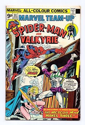 Marvel Team-Up #34 & #35 - Both Issues!