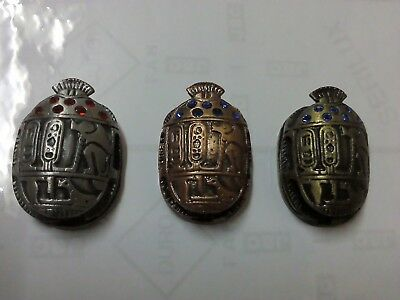 egyptian lucky stone lot of 3 new