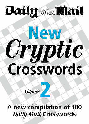 New Cryptic Crosswords VOL 2: A Compilation of 100  Daily Mail Crosswords (NF6)