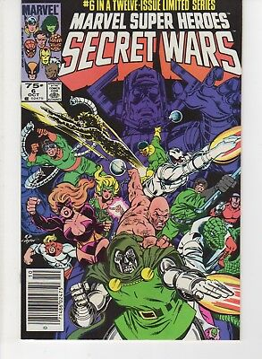 Marvel Super Heroes Secret Wars 6 (NM)