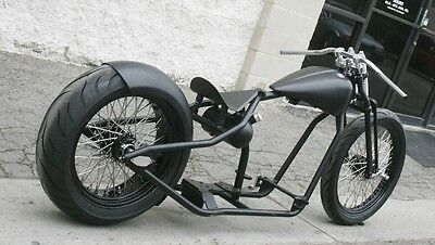 2017 Custom Built Motorcycles Bobber  MMW AMERICAN TRACKER 200 TIRE ROLLING CHASSIS