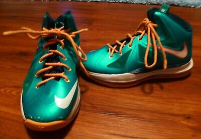 more photos 9971a be1e1 nike lebron x 10 youth size 4.5y
