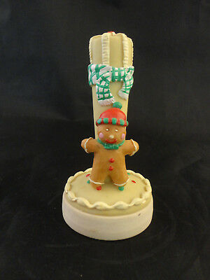 Vintage Giftco Holiday COOKIE STAMP PRESS Gingerbread Man