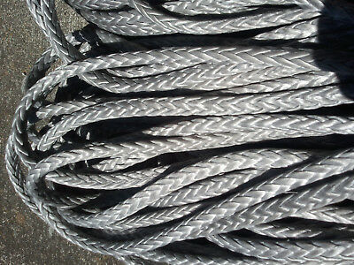 "60' of 7/16"" AmSteel-Blue Dyneema SK-78 by Samson Rope 21,500lb Tensile Strength"