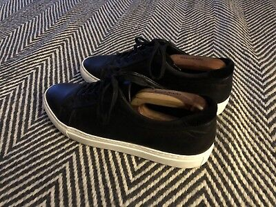 REISS Black Smart Trainers Size 9