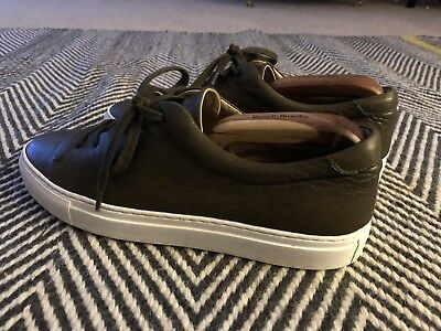 REISS Green Smart Trainers Size 9