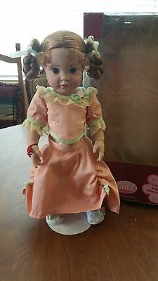 "Gotz doll - by Hildegard Gunzel - 16"" vinyl  2007 in french ball gown"