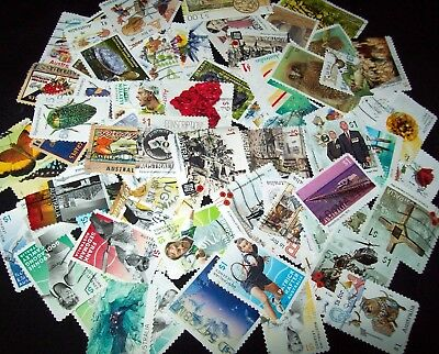 Australian Stamps 70 different $1.00 2016/2017 Used-Lots of Sets-Recent/Bulk