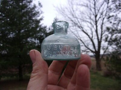 1860's J.J. Butler Cincinnati Ohio Ink Bottle