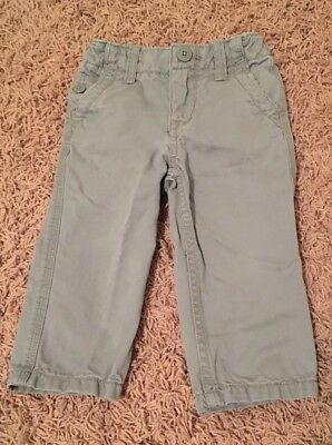 Baby Gap Boys Gray straight leg Casual Dress Pants - Toddler - 18-24 Months