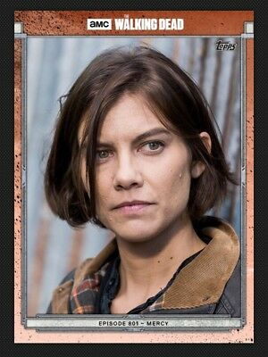 Maggie Greene-801-Red-Topps Walking Dead Card Trader Digital