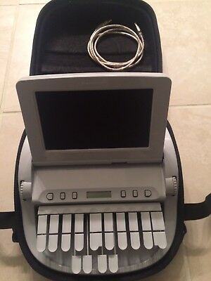 Stenograph Wave Student Steno Writer with case, stand, roller bag, mic, adapter