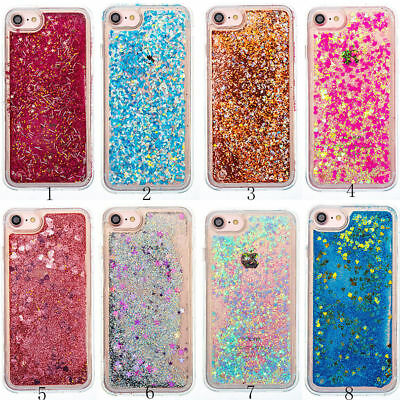 Quicksand Glitter Sparkle TPU Gel Soft Case Cover For iPhone 8 7 & S8 /S8 Plus