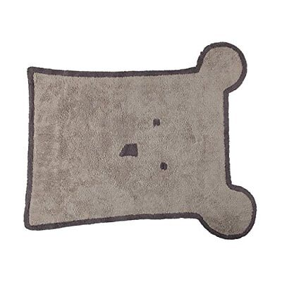 Lorena Canals C-BEAR Bear Linen New Quality Latex Washable Rug, Grigio (m3x)