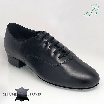 Ray Rose 330 Black Leather Mens Ballroom Dance Shoes(All Sizes Available!!!)